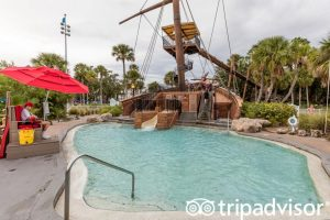Disney's Yatch Club Resort Waterslide