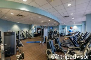 Disney's Yatch Club Resort Gym